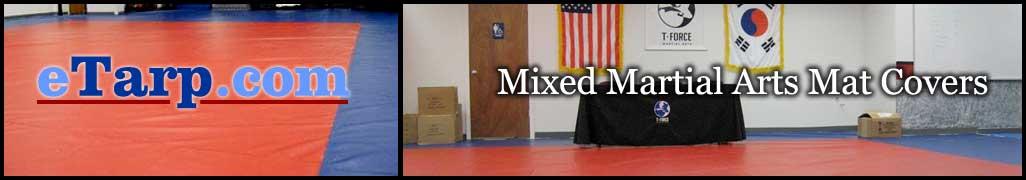 Mma Mat Covers Mixed Martial Arts Equip Vinyl Amp Canvas