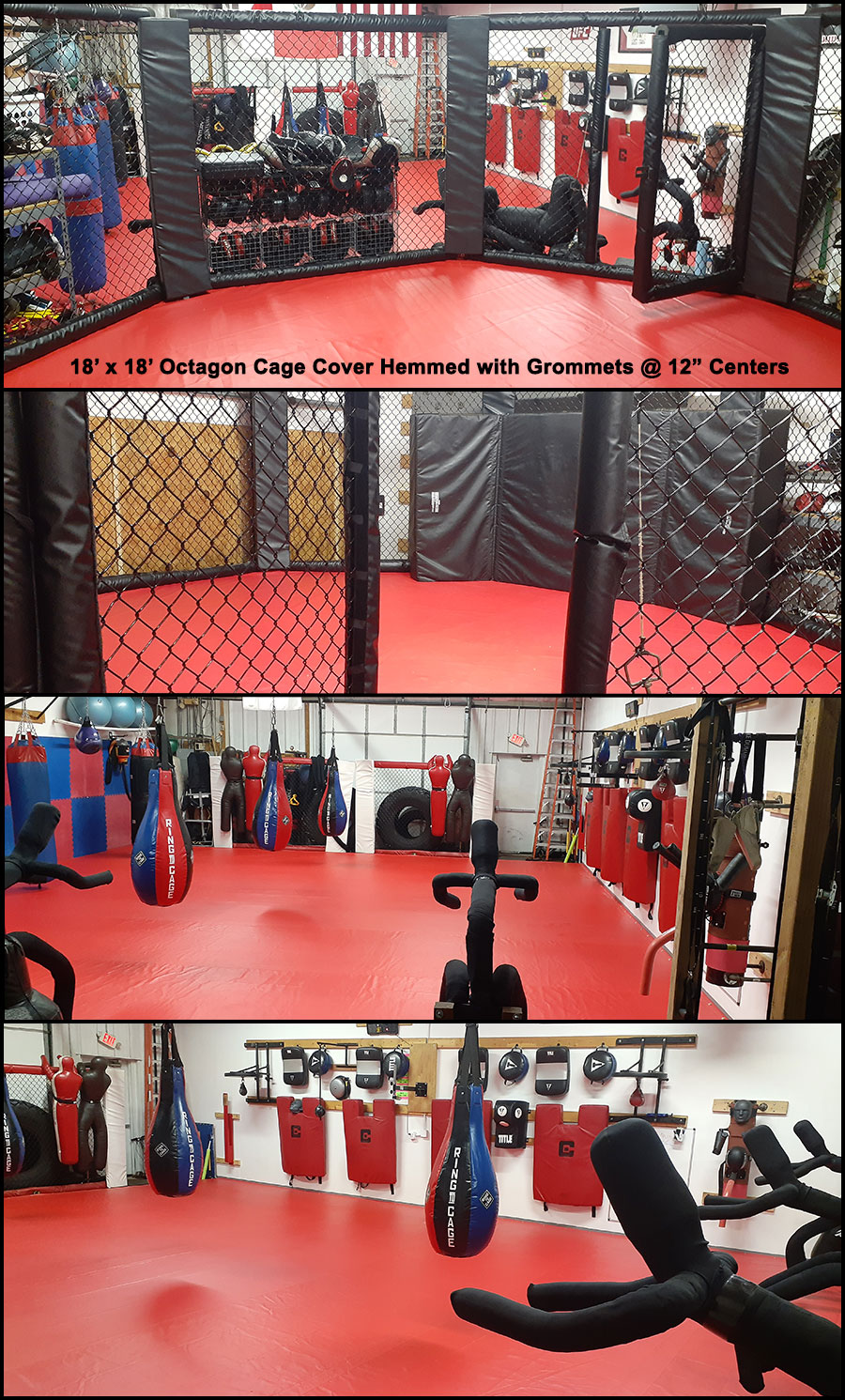 Octagon Cage Cover